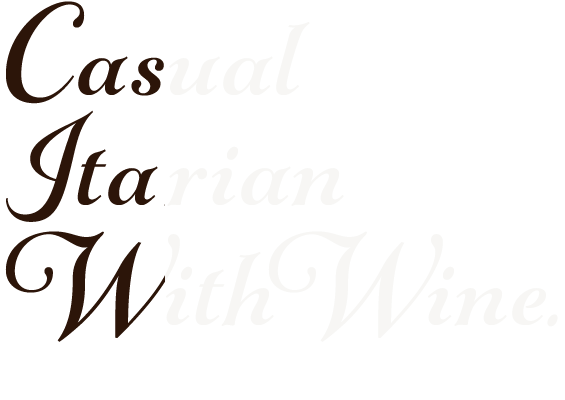 Casual Itarian With Wine